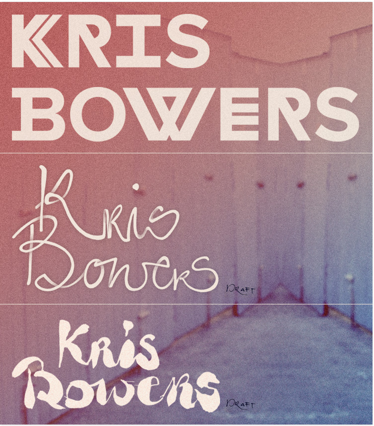 KRIS BOWERS Corporate Design